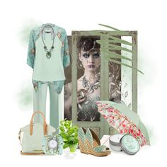 """Mint Green Fillers"" by debpat on Polyvore"