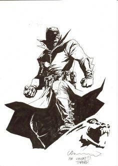 Damien as Batman - Lee Bermejo