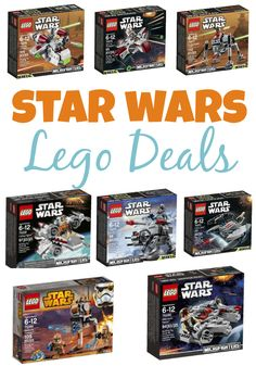 LEGO Star Wars Sets As Low As $7.99! Snag these and stock up for birthdays or a Lego family night!