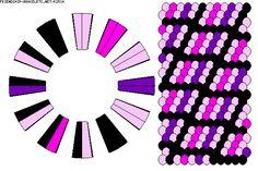 Pattern K2534 - Strings: 24 Colors: 4 -  ●ღ\●/ღ●**