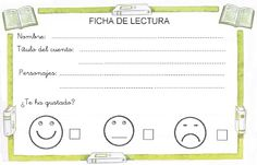 LEARNING IS FUN!: FICHAS DE LECTURA