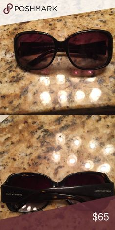 """Sunglasses Juicy couture sunglasses. Wore once.. almost new!! """"Hunny Bunny"""" style Bird by Juicy Couture Accessories Sunglasses"""