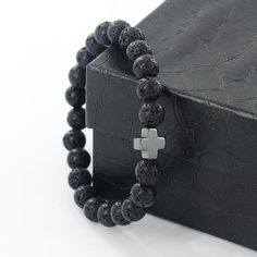 So cool for you or the man in your life! Lava beads begin their journey to your jewelry as molten rock beneath an active volcano. At over 1,000 degrees Celsius the molten rock begins to melt and final