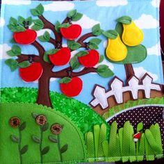 #quietbookpage #apple #pear #quietbook