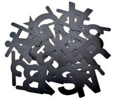 Zwarte letters