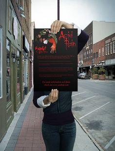 Poster I did to promote Detroit Rapper Esham's album