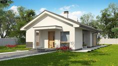 Z329 to wyjątkowy dom z kategorii projekty domów do 90 m2