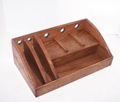 Charging Station / Docking Station Handcrafted in Oak by tomroche, $80.00