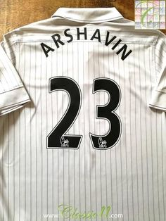 Official Nike Arsenal 3rd football shirt from the 2009/2010 season. Complete with Arshavin #23 on the back of the shirt in Premier League lettering.