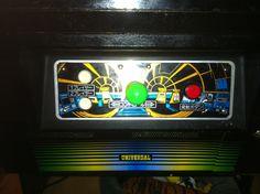 Universal livery on Mr Do! Arcade cab