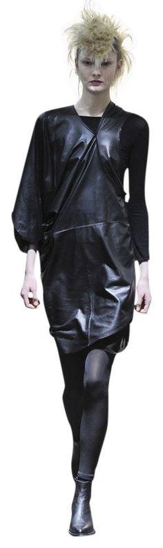 Junya Watanabe Buffalo Leather A/W 2011 Dress One Size Investment Piece Designer