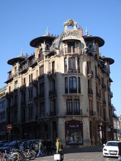 art nouveau building Dijon,France