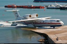 Бе-200ЧС RF-32767 «Василий Раков» (построен в 2005 году)