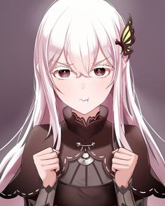 Anime Girl Cute, Kawaii Anime Girl, Anime Art Girl, Manga Art, Anime Titles, Re Zero, Anime Artwork, Anime Comics, Anime Style