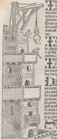 Chronica  Schedel, Hartmann Nürnberg : Anton Koberger für Sebald Schreyer u. Sebastian Kammermaister, [12.VII.1493] Inc. gr. fol. 18 (Ausst. 170)  Folio 17v