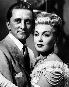 "Kirk Douglas and Lana Turner in ""The Bad and the Beautiful"" (1952)"