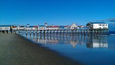 Old Orchard Beach Pier historic | Pier at Old Orchard Beach Old Orchard Beach, United States