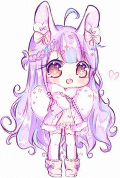 [At] vanessa--nta by seraphy-chan anime art girl, kawaii Dibujos Anime Chibi, Cute Anime Chibi, Anime Girl Cute, Kawaii Chibi, Anime Art Girl, Anime Neko, Arte Do Kawaii, Kawaii Art, Cute Animal Drawings Kawaii