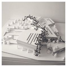 { neighborhood center } // awesome model and design by @busraadmrc  #iArchitectures #architecture #archilovers #arquitectura #architettura #architectural #architects #architecturestudent #architecturemodel #architectureschool #sketch #rendering #handrender #doodle #drawing #art #modelmaking #maquette #maqueta