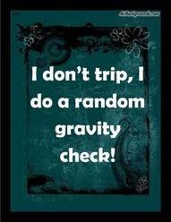 Gravity Check.