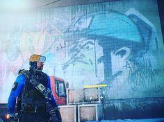 #thedivision Agent Johnson #streetart #gameart #edjohnsonpresentsnerd http://ift.tt/1Enb3sC therealedjohnsonpresents.com #xbox #videogames / http://ift.tt/26DEEL0 / Ask me shit #AskEd @EdJohnsonNERD