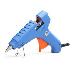 1 piece EU plug  20W with switch-type glue guns hot melt glue gun use 7MM glue sticks