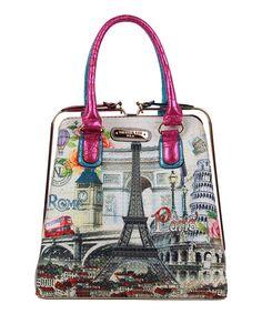 Look what I found on #zulily! Pink & Blue Europe Shopper by Nicole Lee #zulilyfinds