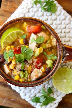 How To Make Six Can Chicken Tortilla Soup - probs wouldn't use canned chicken though
