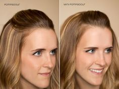 Hair and Make-up by Steph: Fifteen Ways to Pin Back your Bangs: Pompadour; Mini Pompadour