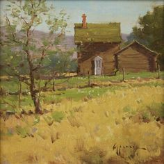 Spring Morning by Ken Spencer Oil ~ 12 x 12