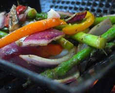Barbequed Vegetable Salad Recipe (Ideal Protein Phases 1-4)