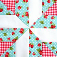 Farmer's Wife Quilt Block #30 - End of Day by Ellie@CraftSewCreate, via Flickr #6-4#7-4#6R-4#7-4
