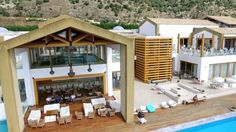 Dodecanese is an amazing island complex in Greece, which includes famous islands like Rhodes and Kos, as well as quiet and family islands, like Symi, Nisyros. Islands, Greece, Pergola, Outdoor Structures, Cabin, House Styles, Videos, Places, Outdoor Decor