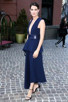 THIS Is How You Make Navy Sexy #Refinery29 Cobie Smulder