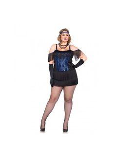 Costume da cabaret sexy per donna