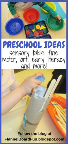 Preschool teachers new to the field or just in search of great ideas, this blog has tons of tips!  Find ideas for circle time, math, art, fine motor, sensory tables and more!  #flannelboardfun #earlyliteracy #preschoolmath #preschoolart #preschool #finemotor