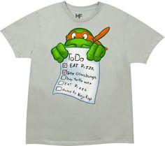 TMNT Michaelangelo t-shirt