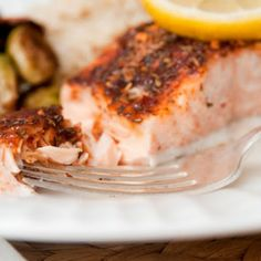 Sweet and spicy salmon @keyingredient