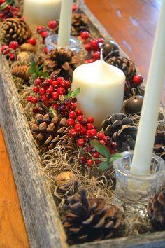 La Buhardilla - Decoración, Diseño y Muebles: Pequeñas ideas para decorar la mesa en navidad