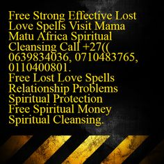 LADY HEALER MAMA MATU TRADITIONAL SPECIALIST MOMEY & RELATIONSHIP PROBLEMS +27 63983 4036, 0710483765. Spiritual Cleansing, Spiritual Healer, Spirituality, Health Spell, Bring Back Lost Lover, Voodoo Spells, Lost Love Spells, Healing Spells, Love Spell Caster
