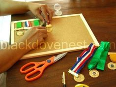 Mounting Medals and Ribbons for Display ~ Blackdove Nest