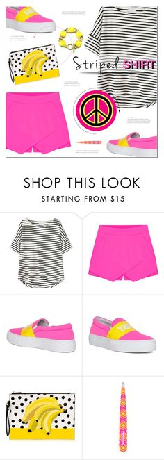 """""""Marine Layer: Striped Shirts"""" by polly301 ❤ liked on Polyvore featuring Eloqueen, Tweezerman and stripedshirt"""