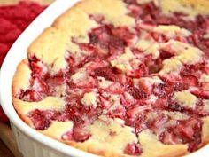 Fresh Strawberry Cobbler Recipe - Quick & Easy Dessert Recipe Video by divascancook | ifood.tv