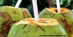 Coconut Water's Benefits:  Great for rehydration: it's refreshing, contains essential electrolytes, Important minerals and is as close to sterile as you'll get.  : -) 295 mg of potassium, more than a banana. It has been used to treat different tropical ailments, including stomach flu, dysentery, constipation and parasites. It helps with food absorption and improves digestion via its bioactive enzymes.  contains Lauric acid – is anti-fungal, anti-viral and anti-bacterial.