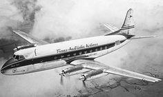 TAA Vickers Viscount 720 (VH-TVE)