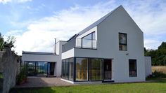 James Corbett Architects is an architecture practise based in Limerick City. Specialists in bespoke, sustainable design. House Designs Ireland, Cottage Exterior, House Extensions, Sustainable Design, House Front, Exterior Design, Beautiful Homes, Building A House, House Plans