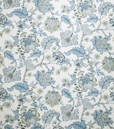 Home Decor Print Fabric-Eaton Square Course-China Floral, , hi-res
