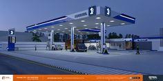 identidade visual posto de gasolina Joinville SC