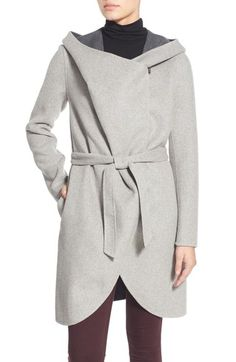 Soia & Kyo Reversible Double Face Hooded Wrap Jacket available at #Nordstrom