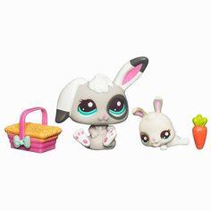 Mommy & Baby bunnies! #howsweet #socute #cuteee #littlestpetshop #lps